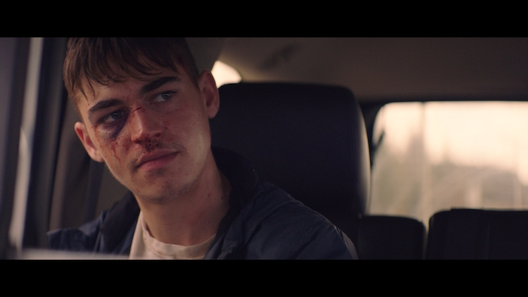 Hero Fiennes Tiffin as Brooks in the thriller, THE SILENCING, a Saban Films release. Photo Courtesy of Saban Films