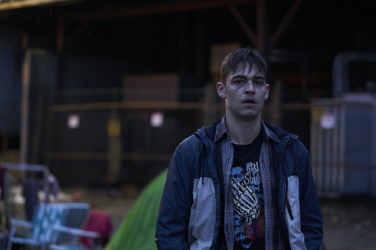 Hero Fiennes Tiffin as Brooks in the thriller, THE SILENCING , a Saban Films release. Photo Courtesy of Saban Films.