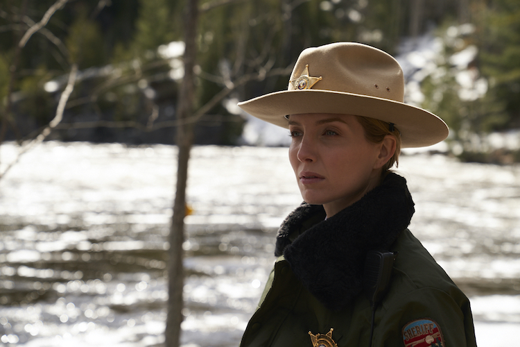 Annabelle Wallis as Sheriff Alice Gustafson in the thriller, THE SILENCING, a Saban Films release. Photo Courtesy of Saban Films