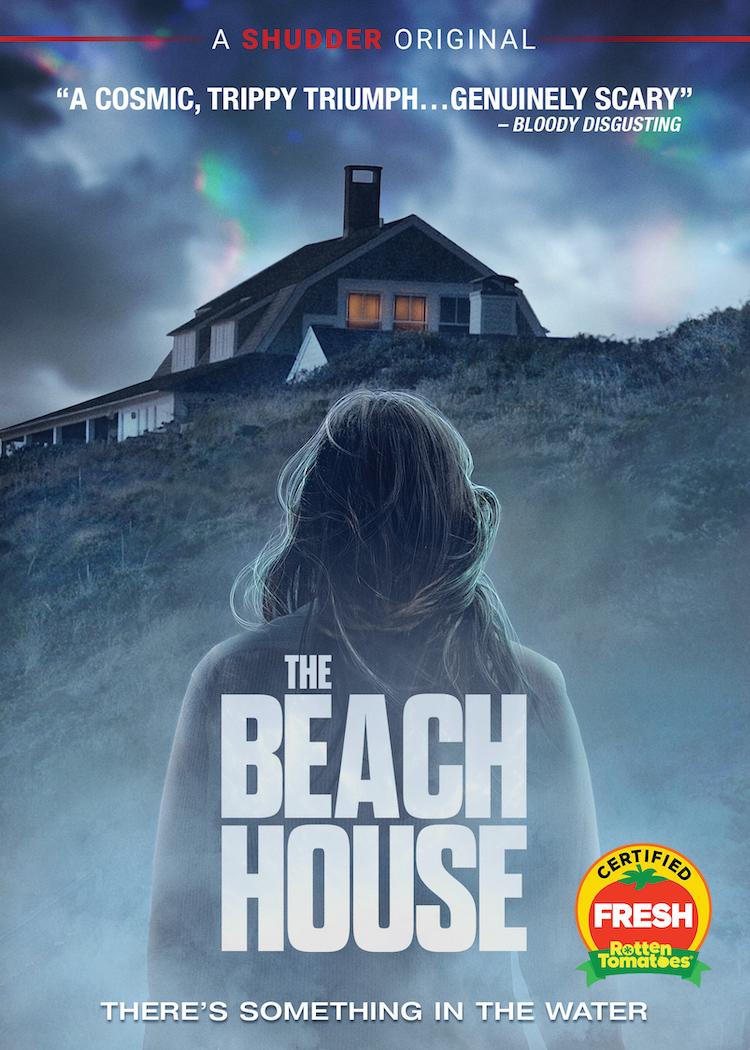THE BEACH HOUSE DVD art