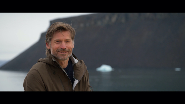 Nikolaj Coster-Waldau in THROUGH GREENLAND