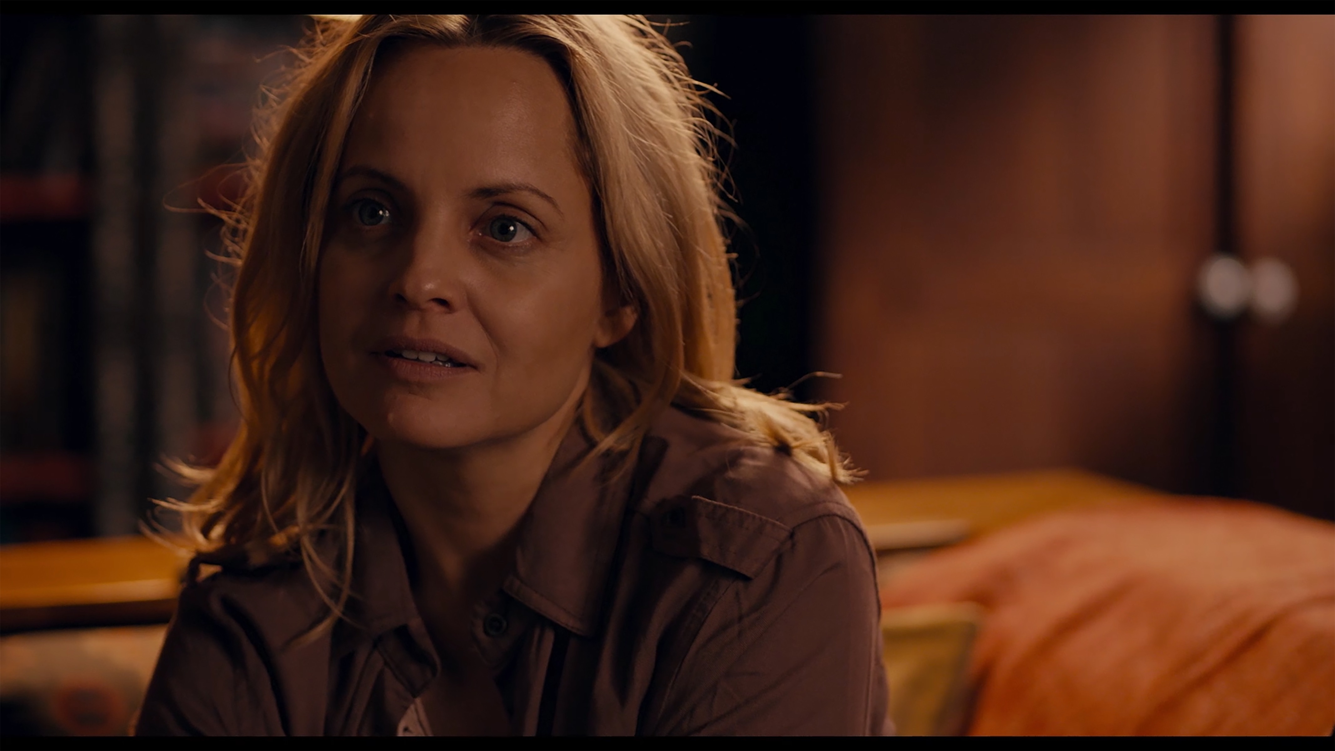 Mena Suvari as Michelle Wells in the thriller/sci - fi, WHAT LIES BELOW , a Vertical Entertainment release. Photo courtesy of Vertical Entertainment.