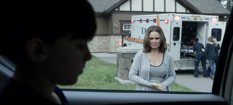 (L-R) Jett Klyne and Keegan Connor Tracy in Z