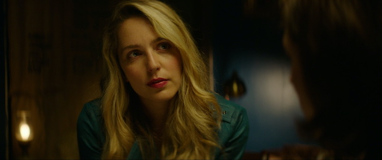Jessica Rothe as May in the thriller BODY BROKERS , a Vertical Entertainment release. Photo courtesy of Vertical Entertainment.