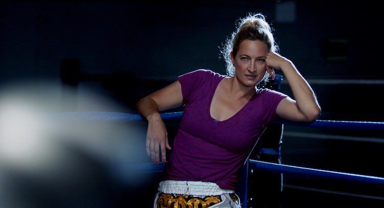 Zoë Bell as Ro sie in the action/drama film HAYMAKER , a Gravitas Ventures release. Photo courtesy of Gravitas Ventures.