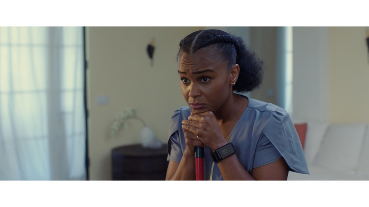 Tamara Bass as Patrice in the drama, IF NOT NOW, WHEN? , a Vertical Entertainment release. Photo courtesy of Vertical Entertainment.