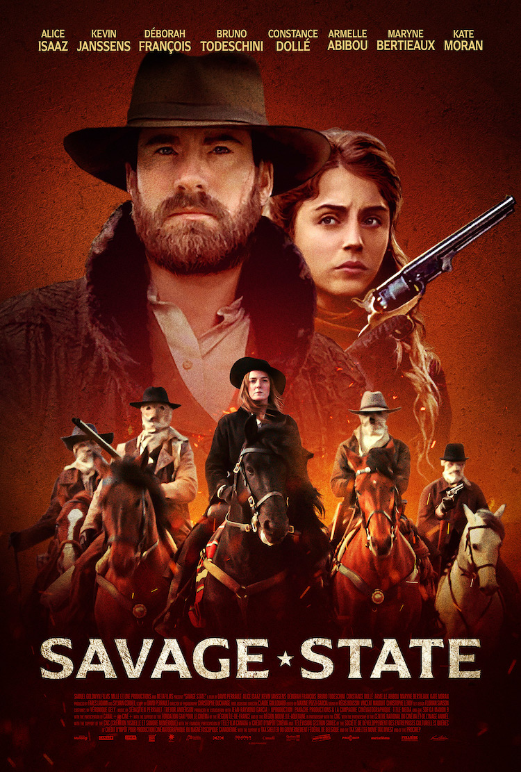 Key Art Poster for SAVAGE STATE