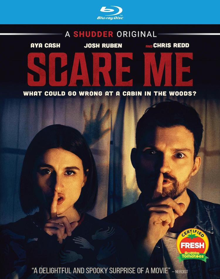 Blu-Ray cover of SCARE ME
