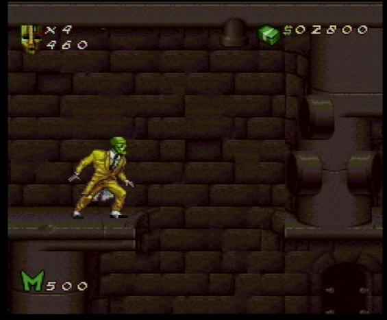 Motion Pixels: THE MASK (1995) On SNES!!