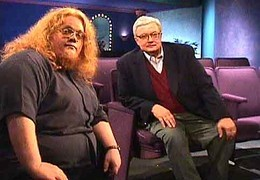 Roger Ebert and the Fat One - by Harry Knowles