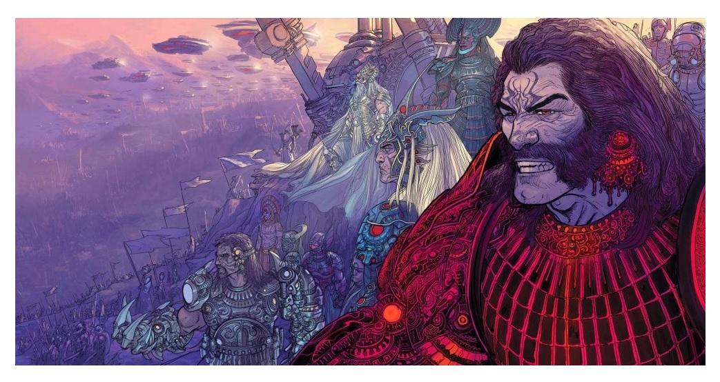 Aicn Comics Reviews Mark Millars Empress Unfollow Mighty Morphin
